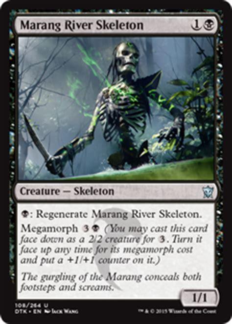 mtg marang river skeleton from dragons of tarkir set by wang of magic the gathering