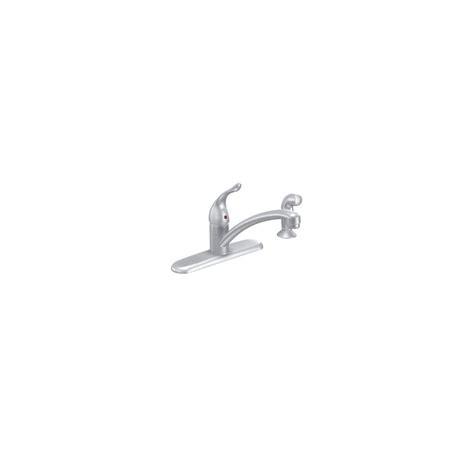 moen 7430bc brushed chrome single handle kitchen faucet