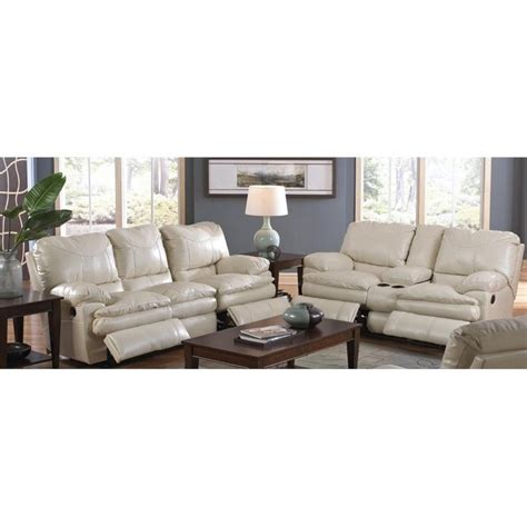 catnapper perez 2 reclining leather sofa set in
