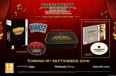 collectorsedition org 187 theatrhythm curtain call collector s edition 3ds europe