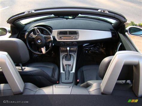 2003 Bmw Z4 3.0i Roadster Black Dashboard Photo #41688437