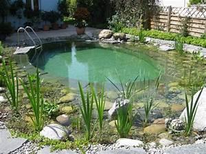 Badeteich Im Garten : badeteich schwimmteich klein ~ Markanthonyermac.com Haus und Dekorationen