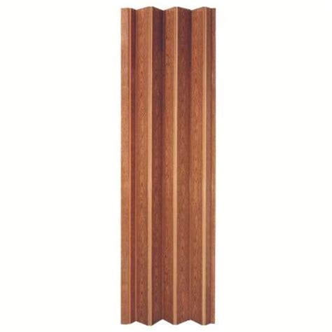 accordion doors home depot spectrum 36 in x 80 in encore vinyl fruitwood accordion