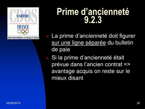 ppt convention collective nationale du sport powerpoint presentation id 913875