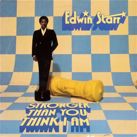 Disco2go Edwin Starr  (1980) Stronger Than You Think I Am