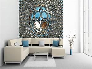 Moderne Tapeten Wohnzimmer : moderne tapeten ~ Markanthonyermac.com Haus und Dekorationen
