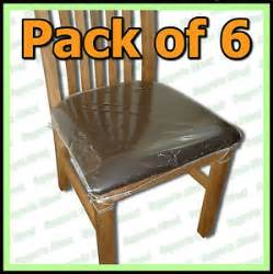 Plastic Seat Covers For Dining Room Chairs by Dining Chair Seat Covers Ebay
