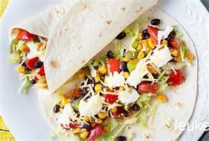 Wraps Füllung Vegetarisch : recept voor vegetarische wrap ~ Markanthonyermac.com Haus und Dekorationen