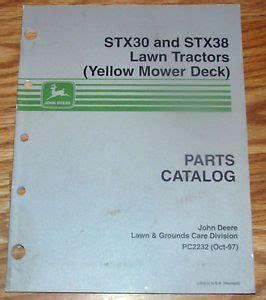 deere stx38 yellow deck wiring diagram free
