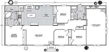 1998 fleetwood mobile home floor plans mobile home plans