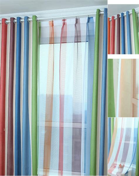 Navy And White Striped Curtains Blackout by Turquoise White Striped Curtains Curtain Menzilperde Net