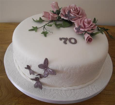 you to see 70th birthday cake roses and butterflies on craftsy
