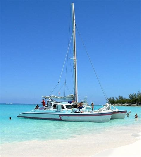 Bahamas Catamaran Charters Day Tours by Excursion Image Nassau Bahamas Private Charter Half Day