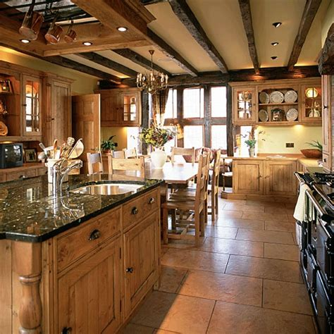 Big Open Country Kitchen @ Myhousemyhomemyhousemyhome