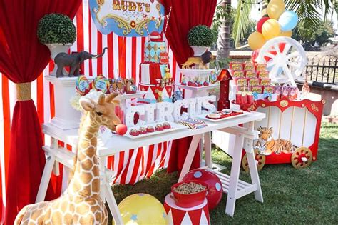 Carnival Circus Party Ideas