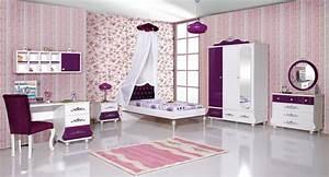 Bett Für Mädchen : kinderzimmer prinzessin kinder bett m dchen lila prinzessinenbett ebay ~ Markanthonyermac.com Haus und Dekorationen
