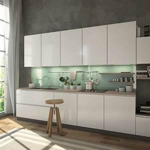 Glasrückwand Küche Beleuchtet : gr n grau lindgr n glasr ckwand k che kaufen ~ Markanthonyermac.com Haus und Dekorationen