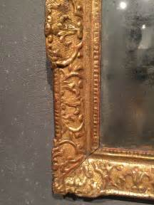 miroir en bois dor 233 224 la feuille au troph 233 e de guerre 233 poque r 233 gence xviiie si 232 cle n 51583