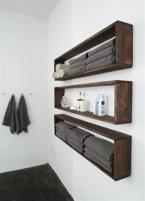DIY Wall Shelves in the Bathroom  Tutorial  Diy wall