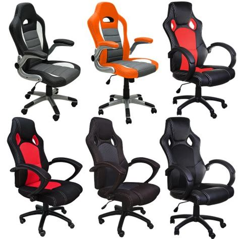 fauteuil chaise de bureau ergonomique gamer pc si 232 ge rembour 233 e incli
