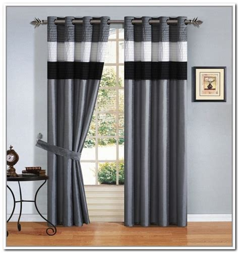black and white striped curtains uk 28 images gorgeous white bay window idea with
