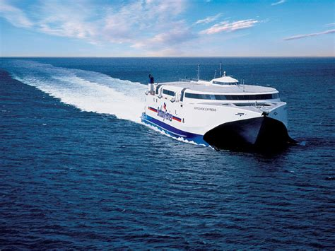 Catamaran Ferry Normandie by Portsmouth To Cherbourg Car Ferry Brittany Ferries