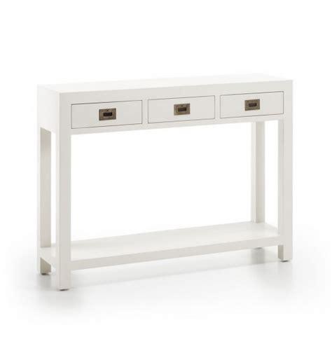 meuble d entr 233 e avec tiroirs console blanche
