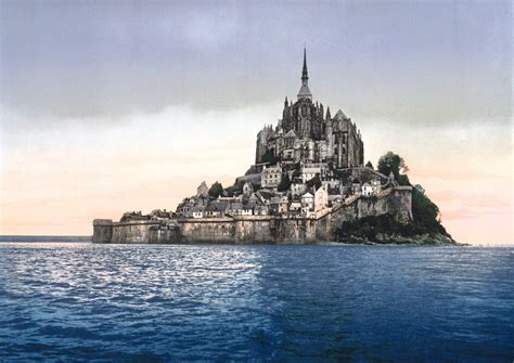 le mont michel the tidal island travellingcoyote