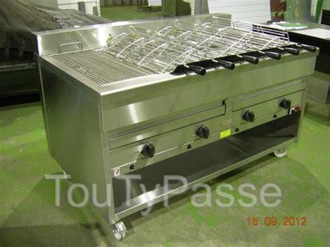 barbecue professionnel a charbon de bois ou gaz aabasene