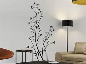 Baum Für Wohnzimmer : baum wandtattoo beerenstrauch von ~ Markanthonyermac.com Haus und Dekorationen