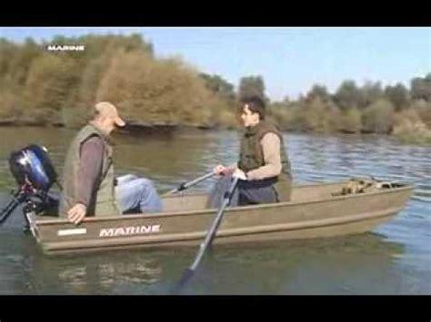 Lowe Jon Boat Vs Tracker by Marine 2008 1232 Youtube