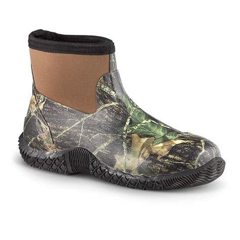 Rubber Boot Water by Men S Ranger 174 Classic Neoprene Waterproof Shoes Mossy Oak