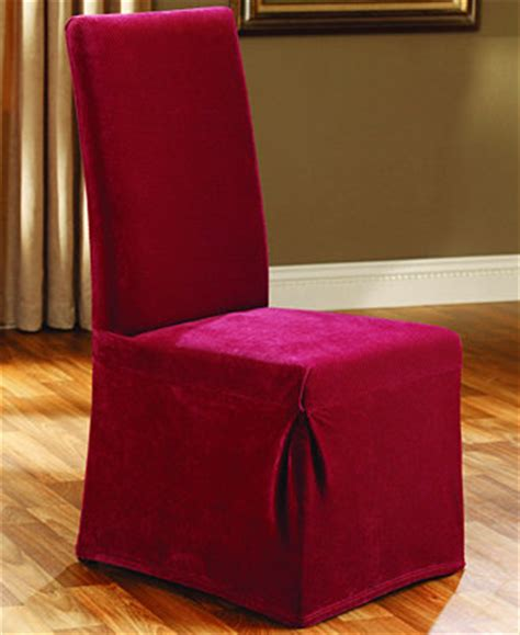 sure fit stretch pique dining room chair slipcover slipcovers for the home macy s