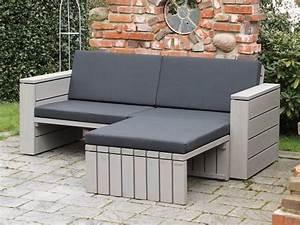 Outdoor Sofa Holz : lounge ecke zeitlose loungem bel aus heimischem holz ~ Markanthonyermac.com Haus und Dekorationen