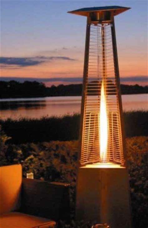 premium residential pyramid glass patio heater