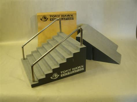 tony hawk tech deck stairs with rails and rs toys