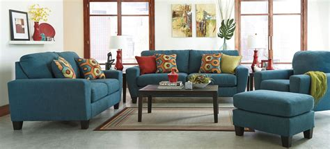 sagen teal living room set from 9390238 coleman furniture