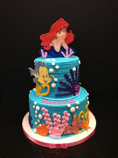 ariel birthday cake mermaid birthday cake brenham olde towne bakery