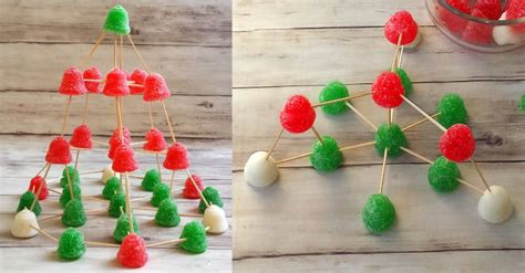 Gumdrop Christmas Tree Stem by Christmas Stem Activity Gumdrop Christmas Tree Teaching