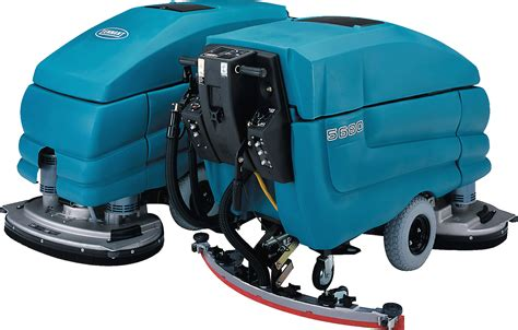 the tennant 5680 floor scrubber can be used with