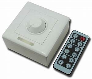 Led Dimmer Anschließen : geeek led dimmer with remote control dc 12 24v ~ Markanthonyermac.com Haus und Dekorationen