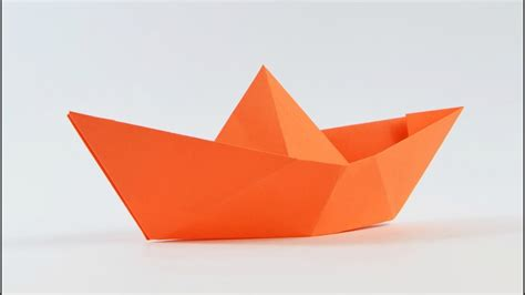 Origami Boat Video by Origami How To Make A Simple Origami Boat That Floats