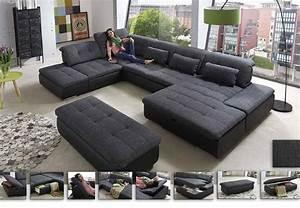 Sofa In U Form : wohnlandschaft lomo das gro e sofa in u form bieten sagenhaft viel platz zum gem tlichen ~ Markanthonyermac.com Haus und Dekorationen