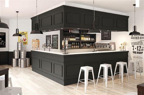 comptoir de bar nero britannia