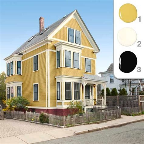 17 best ideas about yellow house exterior on