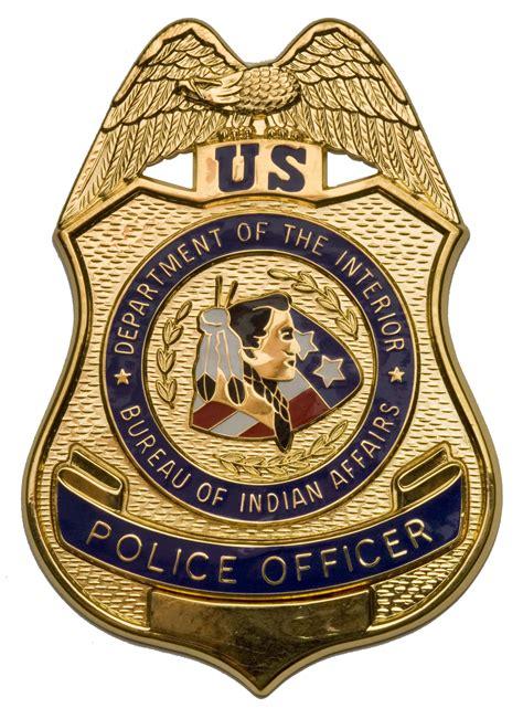 file bia officer badge jpg wikimedia commons