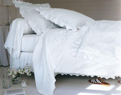 linge de lit brod 233 fils soyeux becquet