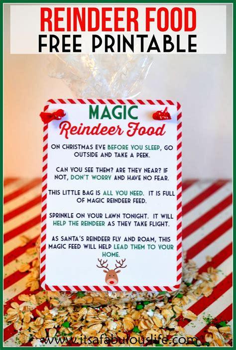 Best 25+ Reindeer Food Ideas On Pinterest