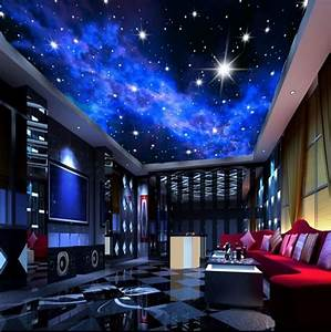 Sternenhimmel Kinderzimmer Decke : murals 3d star nebula night sky wall painting ceiling wallpaper bedroom tv background galaxy ~ Markanthonyermac.com Haus und Dekorationen