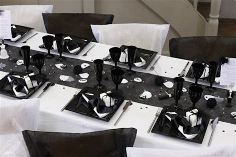 mariage le 1 09 2012 theme noir et blanc robe trouv 233 e et bb2 install 233 mariage forum vie